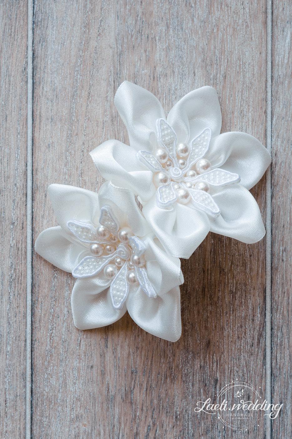 Luiza Bridal Flower Ornament For Hair Laetiding